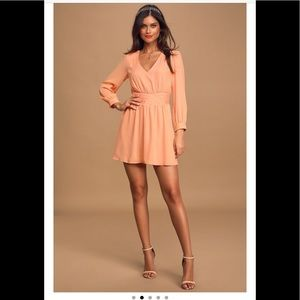 Lulu's Ali & Jay Seashell collector peach dress S